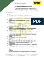Manual Comando at HC05