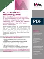 08. PAS 55 - Assessment Methodology (PAM)_IAM 2009