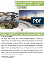 Indian Light Electrical Equipment Industry
