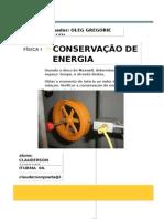 Conservação de Energiaer