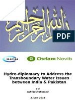 2. Hydro-diplomacy to Address the Transboundary Water Issues Between India and Pakistan