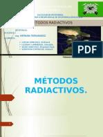 Cap v.métodos Radiactivos