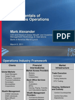 Mark Alexander - Fundamentals of Securities Ops 3-9-2011