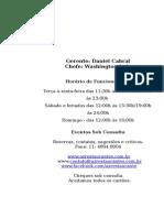Cardápio AZ 01-08-12