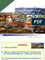 Minería Artesanal Cpmsa Snm