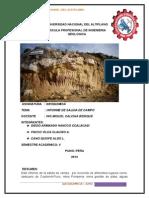 Informe de Geoquimica Impresiones