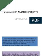 Destilacion Multicomponente Fug