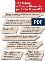 House GOP Leaves Greater MN Behind