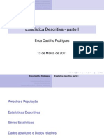 Dados Absolutos e Dados Relativos