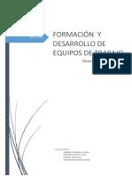 Formacion y Desarrollo de Equipos de Trabajo