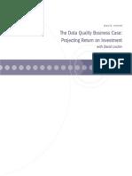 Data Quality ReturnOnInvestment