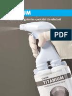 Titanium disinfectant