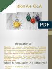 Regulation A+ Q&A  (Securities Lawyer 101)