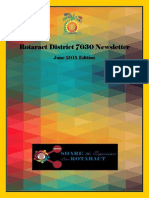 District Newsletter June 2015 (English)