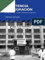 JAMES - Resistencia e Integracion, Capitulo 1