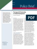 The Japan-EU Partnership on Global Development