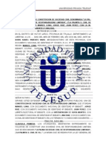 Escritura Publica - TELESUP