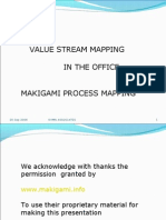 Value Stream Mapping in the Office Makigami