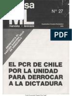 Revolutionary Communist Party (Chile) - Causa ML(#27)