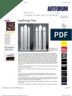 Disarming Time_ the Art of Anne Truitt - Artforum.com _ in Print