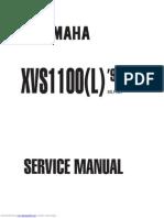 2004 Yamaha v STAR 1100 SILVERADO CLASSIC Motorcycle Service Manual