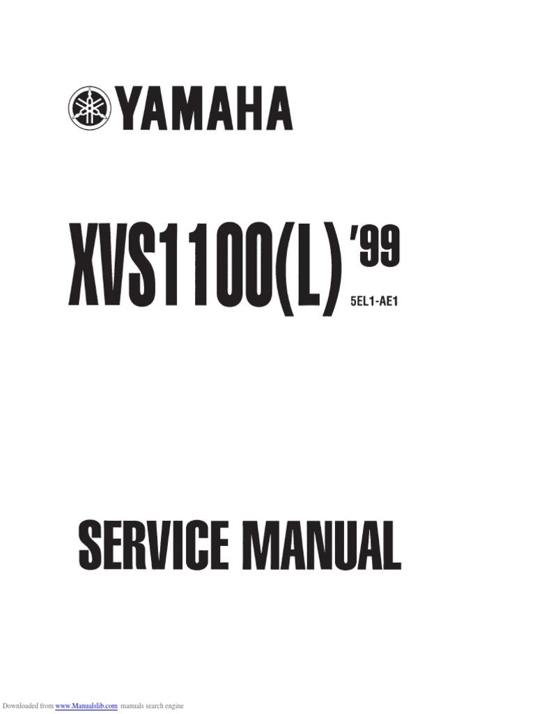 2004 Yamaha V Star 1100 Silverado Classic Motorcycle