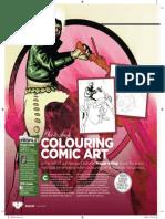Colouring Comic Art Tutorial