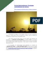 Extracción de Hidrocarburos - Contratar Colombianos Es Norma