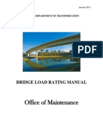 Bridge Load Rating Manual