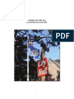 Carmel-By-The-Sea a Governance Review Report MCCGJ 2015