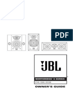 JBL Northridge E10 E20 EC25 OM English