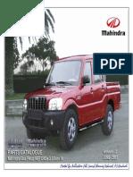 Mahindra Scorpio Parts Manual PIK UP 2.5 CRDe