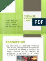 teoria de produccion y costos