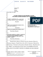 Gordon v. Impulse Marketing Group Inc - Document No. 101