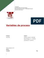 Sistemas Electronicos Analogicos - Variables de Procesos