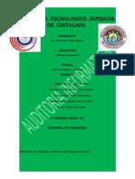 Reporte Del Checklist