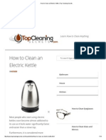 How to Clean an Electric Kettle _ Top Cleaning Secrets