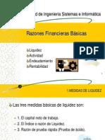 RAZONES FINANCERAS