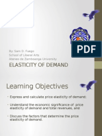 10. Elasticity of Demand