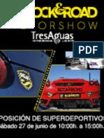 II Concentración Nacional de Superdeportivos de lujo en TresAguas