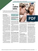 Habrá seguro médico para niños indocumentados