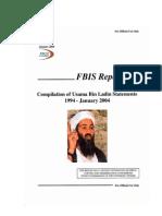 Compilación de Escritos de Osama Bin Laden en Inglés