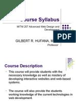 MITM 207 Syllabus
