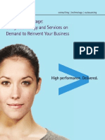 Accenture Reinvent Business Right Technology BPO Advantage