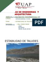 ESTABILIDAD DE TALUDES , DINO, RICARDO, HEGEL.ppt