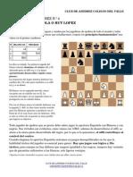 Cuaderno Tactico n4. Apertura Española. Ataque Worral
