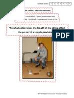 Lab Report Pendulum