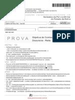 5 Caderno de Prova PM BA 2012