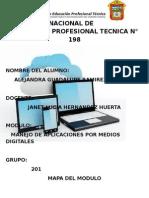 manejo de herramientas por medios digitales