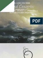 Weber Wind Concertos cue sheet listings